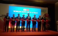Lễ khai mạc triển lãm giao thương Hàn Quốc 2016