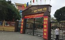 Trường Tiểu học Nam Trung Yên, nơi xảy ra vụ việc