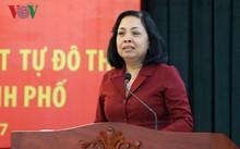 Bà Trương Thị Minh Tín, Chủ tịch UBND phường Bình Trị Đông B, quận Bình Tân