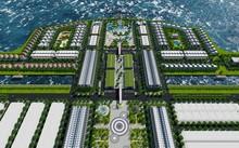 Mô hình đảo nhân tạo Phú Gia. Ảnh: Nhật Tân
