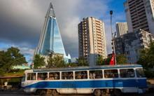 Khách sạn Ryugyong - tòa nhà cao nhất Triều Tiên