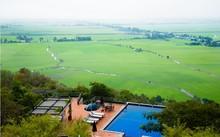 Hồ bơi view đẹp nhất miền Tây - An Giang