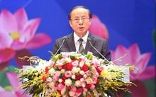 """Chủ tịch Hiệp hội DNNVV Nguyễn Văn Thân tham luận về chủ đề """"Các chi phí của doanh nghiệp"""""""