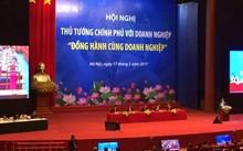 Quang cảnh Hội nghị Thủ tướng Chính phủ với doanh nghiệp