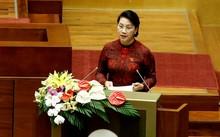 Chủ tịch Quốc hội Nguyễn Thị Kim Ngân phát biểu tại Kỳ họp thứ 3