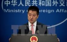 Người phát ngôn Bộ Ngoại giao Trung Quốc Lục Khảng. (Ảnh: AFP/TTXVN)