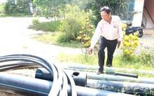 Những đường ống bị vỡ do thi công đường