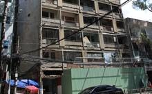 Chung cư cũ 727 Trần Hưng Đạo (Q.5) sau hàng chục năm vẫn chưa thể triển khai