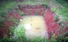 Ao cá nơi phát hiện 3 cháu bé tử vong