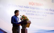 ông Đậu Anh Tuấn – Trưởng phòng pháp chế VCCI tại hội thảo chiều 30/6