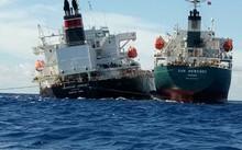 Giải cứu thành công tàu Chemroad Journey mắc cạn tại Vũng Tàu