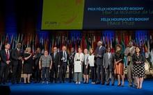 Trao Giải thưởng Hoà bình Félix Houphouët-Boigny