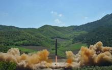 Hình ảnh vụ phóng tên lửa mới đây của Triều Tiên. (Nguồn: Reuters)