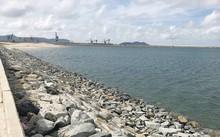 Khu vực lấn biển để làm bãi xỉ của Formosa Hà Tĩnh