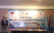 Cải thiện cuộc sống của những bé gái thất học ở Philippines