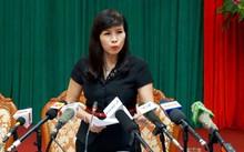 Phó Chủ tịch quận Thanh Xuân Lê Mai Trang