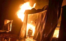 Hiện trường vụ cháy