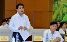 Chủ tịch Nguyễn Đức Chung tại cuộc họp sáng 16/8