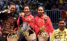 VĐV Wushu Thúy Vi nhận HCV đầu tiên tại SEA Games 29