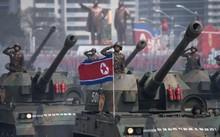 Xe tăng Triều Tiên trong một sự kiện diễu binh diễu hành tại Bình Nhưỡng. Ảnh: AFP