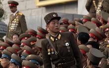 Quân đội Triều Tiên hiện có hơn 1 triệu lính thường trực. (Ảnh: Reuters)