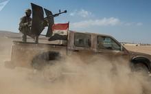 Xe tải của quân đội Syria. Ảnh: Sputnik