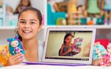 Grace bắt đầu làm video đầu tiên khi mới lên 6