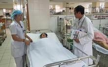 Thai phụ Nguyễn Thị Mai được các bác sĩ theo dõi sức khỏe sát sao