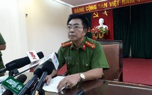 Ông Phạm Trọng Điềm - Phó cục trưởng Cục Cảnh sát hình sự thông tin về vụ việc