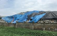Đang thanh tra bãi rác khổng lồ khiến người dân Hà Nội khốn khổ