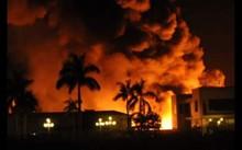 Vụ cháy khiến nhiều công nhân hoảng hốt