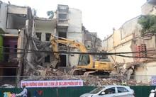 Việc giải tỏa 262 nhà đầu đường Trường Chinh đang được gấp rút thực hiện