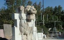 Hoàn thành trùng tu tượng Sư tử 2.000 năm tuổi ở thành phố cổ Palmyra