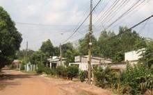 Khu dân cư tại xã Suối Trầu (Long Thành, Đồng Nai) nằm trong diện bị thu hồi đất để làm sân bay Long Thành. (Ảnh: Mạnh Thắng)