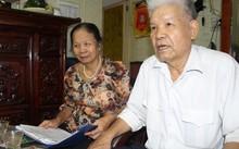 Lão quân nhân Lê Văn Duật luôn có vợ - bà Lê Thị Kim Dinh ủng hộ và động viên