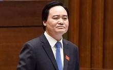 """Bộ trưởng Phùng Xuân Nhạ """"cam kết"""" công khai chi phí chương trình SGK mới"""
