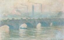 """Bức họa """"Cầu Waterloo"""" (1903) của danh họa Claude Monet nằm trong bộ sưu tập. (Nguồn: CNN)"""