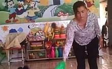 Cô giáo trường Mầm Xanh đánh đập trẻ dã man