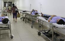 Công nhân nhập viện cấp cứu tại BV Nguyễn Đình Chiểu
