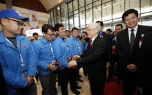 Tổng Bí thư Nguyễn Phú Trọng đến dự đại hội