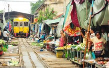Ghé thăm khu chợ nguy hiểm nhất thế giới
