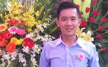 Thầy giáo Trần Thái Châu trong ngày kỷ niệm Nhà giáo Việt Nam 20/11 vừa qua.