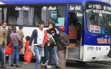 Xe khách cơ bản đáp ứng nhu cầu của hành khách. Ảnh: Đ.Loan