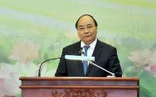 Thủ tướng tin tưởng rằng sứ mệnh lớn nhất của VAST trước hết là làm sao không để trí tuệ và nền khoa học Việt Nam thua kém trên sân nhà. Ảnh: VGP/Quang Hiếu