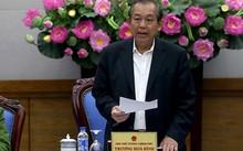 Phó thủ tướng Trương Hòa Bình phát biểu tại hội nghị. Ảnh: Bá Đô