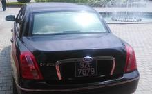 Chiếc xe ôtô hiệu Kia Opirus mang biển số 92E-7679 được lãnh đạo tỉnh Quảng Nam sử dụng, đã chạy 300.000km. Ảnh: Đ.T.