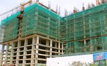 Công trình xây dựng đến 10 tầng mới bị phát giác là không phép.