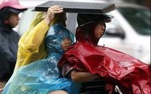 Mưa lốc lớn ở Sài Gòn