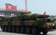Tên lửa đạn đạo Triều Tiên.