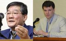 Kim Dong-chol (trái) và Otto Warmbier, hai công dân Mỹ đang bị giam tại Triều Tiên. Ảnh: CBS News/CNN.